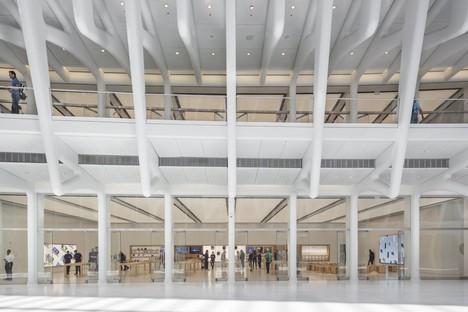 Bohlin Cywinski Jackson Apple Store en el World Trade Center Oculus