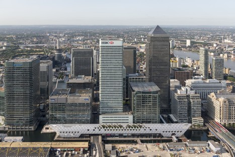 Foster + Partners Crossrail Place - Canary Wharf Londres