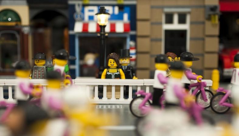 Milán y Roma, dos exposiciones con los pequeños ladrillos LEGO