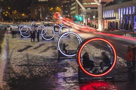Luminothérapie Loop Norias gigantes y juegos de luz en Montreal
