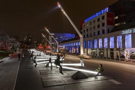 Tres instalaciones interactivas desde Canadá hasta Europa
