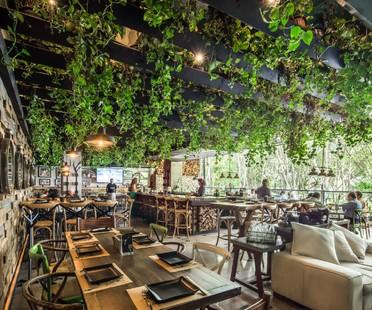 Bosques infinitos en el Wine Park de Broissin Architects