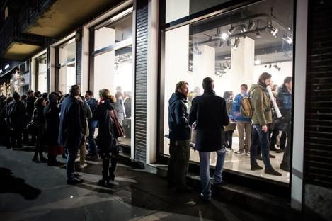 Inauguración Exposición Controcampo SpazioFMG Milán