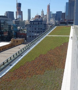 Dattner Architects y WXY architecture + urban design Manhattan Districts 1/2/5 Garaje y Salt Shed