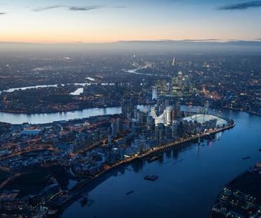Santiago Calatrava transforma la península de Greenwich Londres