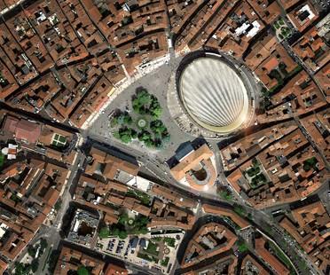 gmp y sbp La nueva cubierta de la Arena di Verona