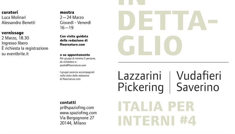 Exposición Italia per Interni #4 SpazioFMG Lazzarini Pickering Vudafieri Saverino