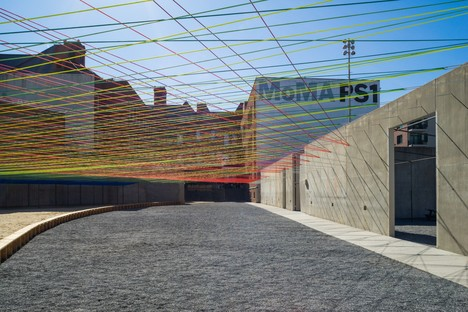 Jenny Sabin Studio Lumen YAP 2017 MoMA PS1 Nueva York