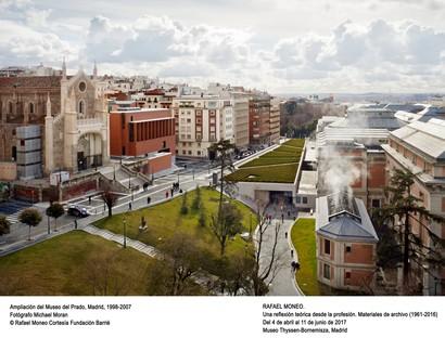 Exposición Rafael Moneo. Una reflexión teórica desde la profesión