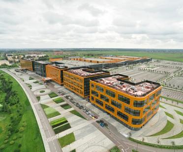 Tchoban Voss Architekten Expoforum Congress and Exhibition Centre