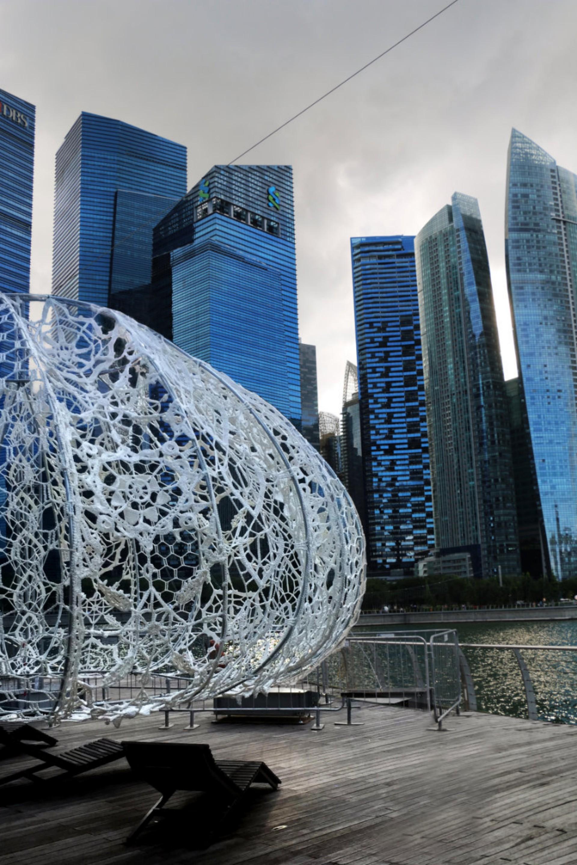 Choi + Shine The Urchins Marina Bay Singapur
