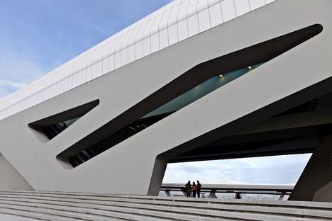 Zaha Hadid Architects Estación de Alta Velocidad Afragola Nápoles