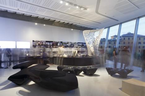 Maxxi exposición La Italia de Zaha Hadid