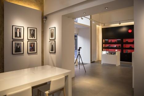 DC10 un proyecto de superficies para el Leica Store de Roma