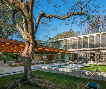 Perkins + Will Architecture House around the Tree São Paulo Brasil