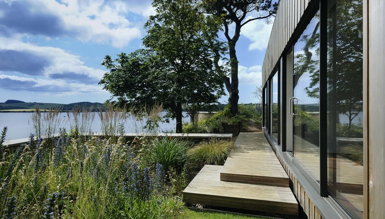 Stan Bolt Architect, Casa en un promontorio en Devon