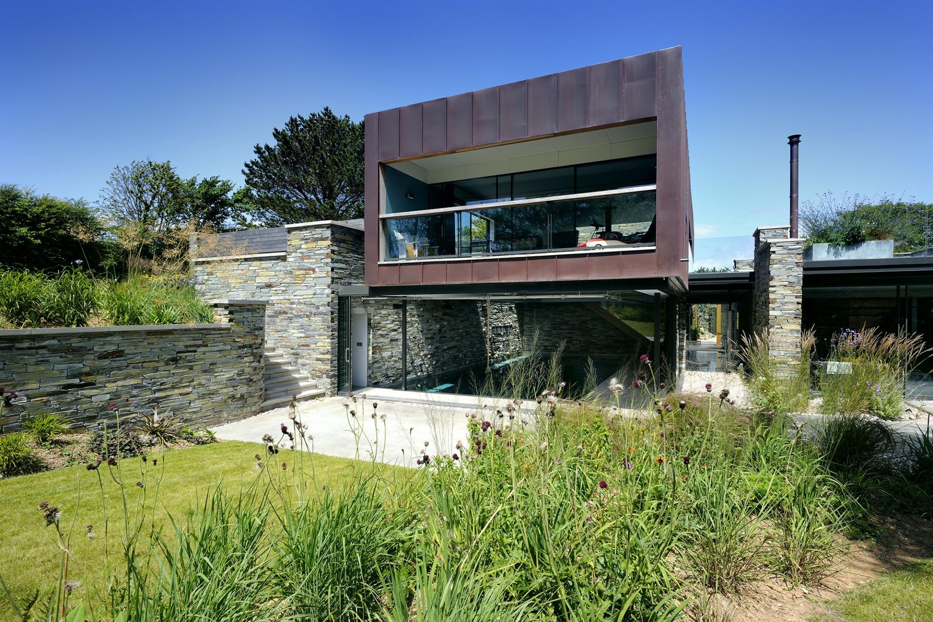 Stan Bolt Architect, Casa en un promontorio en Devon
