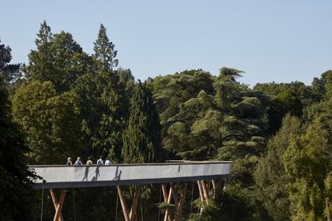 Un recorrido elevado entre los árboles, Glenn Howells Architects, Stihl Treetop Walkway