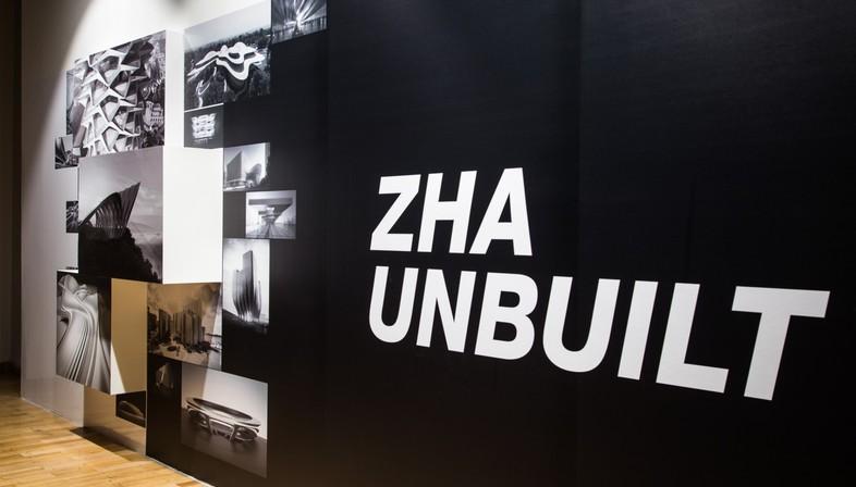 Exposición Zaha Hadid Architects: Unbuilt en la Jaroslav Fragner Gallery Praga