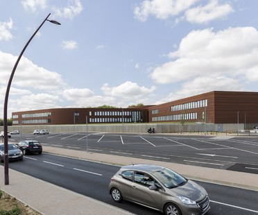 Kardham Cardete Huet Architecture Liceo Nelson Mandela en Pibrac