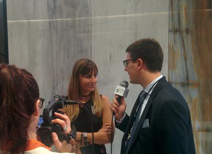 Iris Ceramica Group se reúne con la prensa en Cersaie 2017