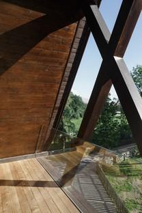 Messner Architects Iglesia de San Giuseppe nel Bosco en Stella di Renon