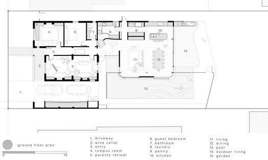Luigi Rosselli Architects Pool House en Randwick