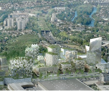 Stefano Boeri il Bosco Verticale a Parigi