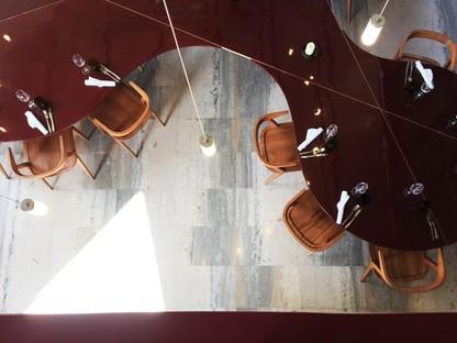 Lina Ghotmeh Architecture restaurante Les Grands Verres del Palais de Tokyo de París