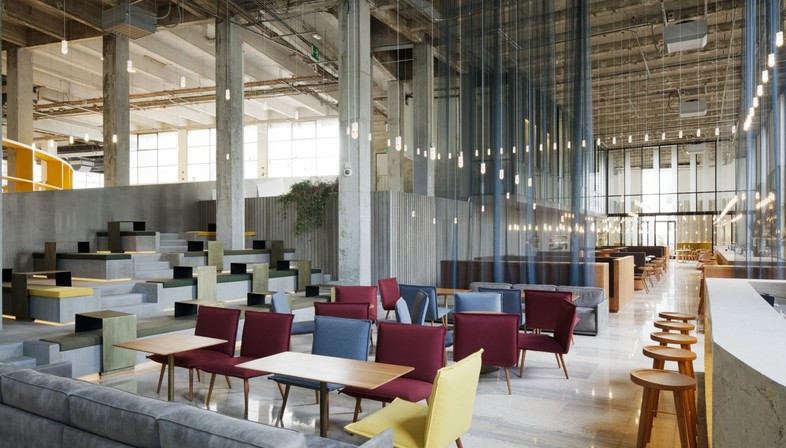 Lina Ghotmeh Architecture ristorante Les Grands Verres Palais de Tokyo di Parigi