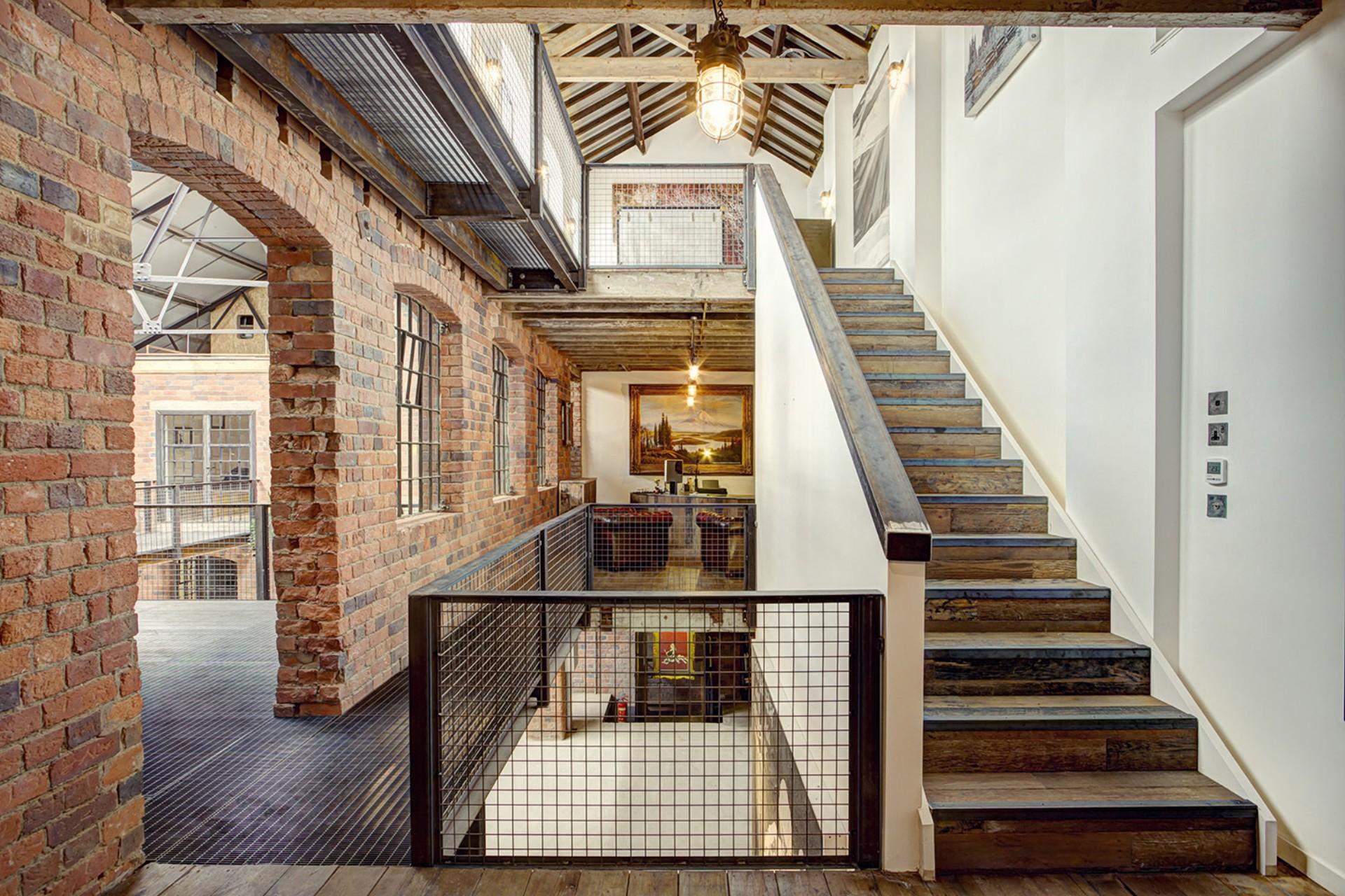 BPN Architects de antigua fábrica a espacio creativo The Compound Birmingham