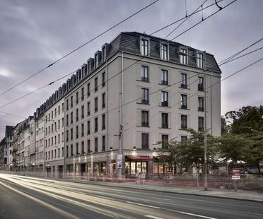 Tchoban Voss Architekten Albia viviendas para estudiantes en Dresde