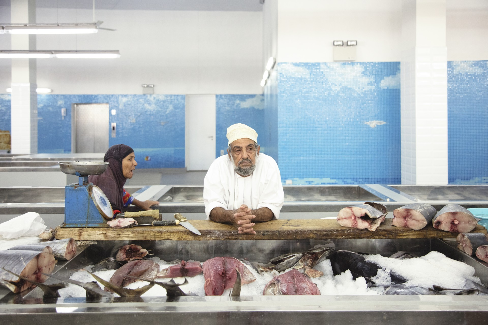Snøhetta finalizado el Muttrah Fish Market - Omán