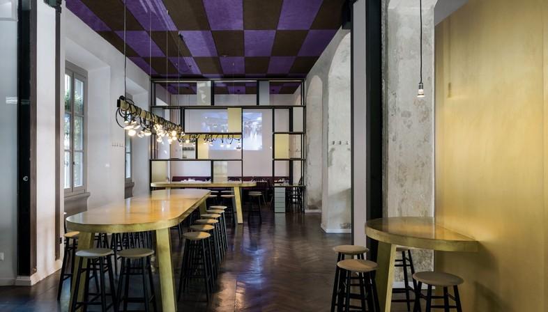 Vudafieri-Saverino Partners DRY Milano interior para establecimiento de food & beverage