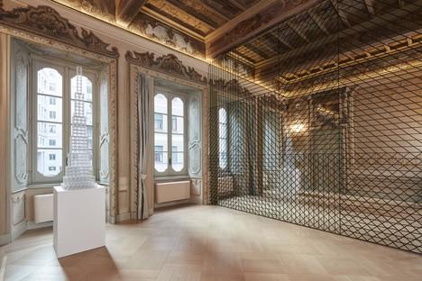 Exposición Sol LeWitt Between the Lines y la arquitectura