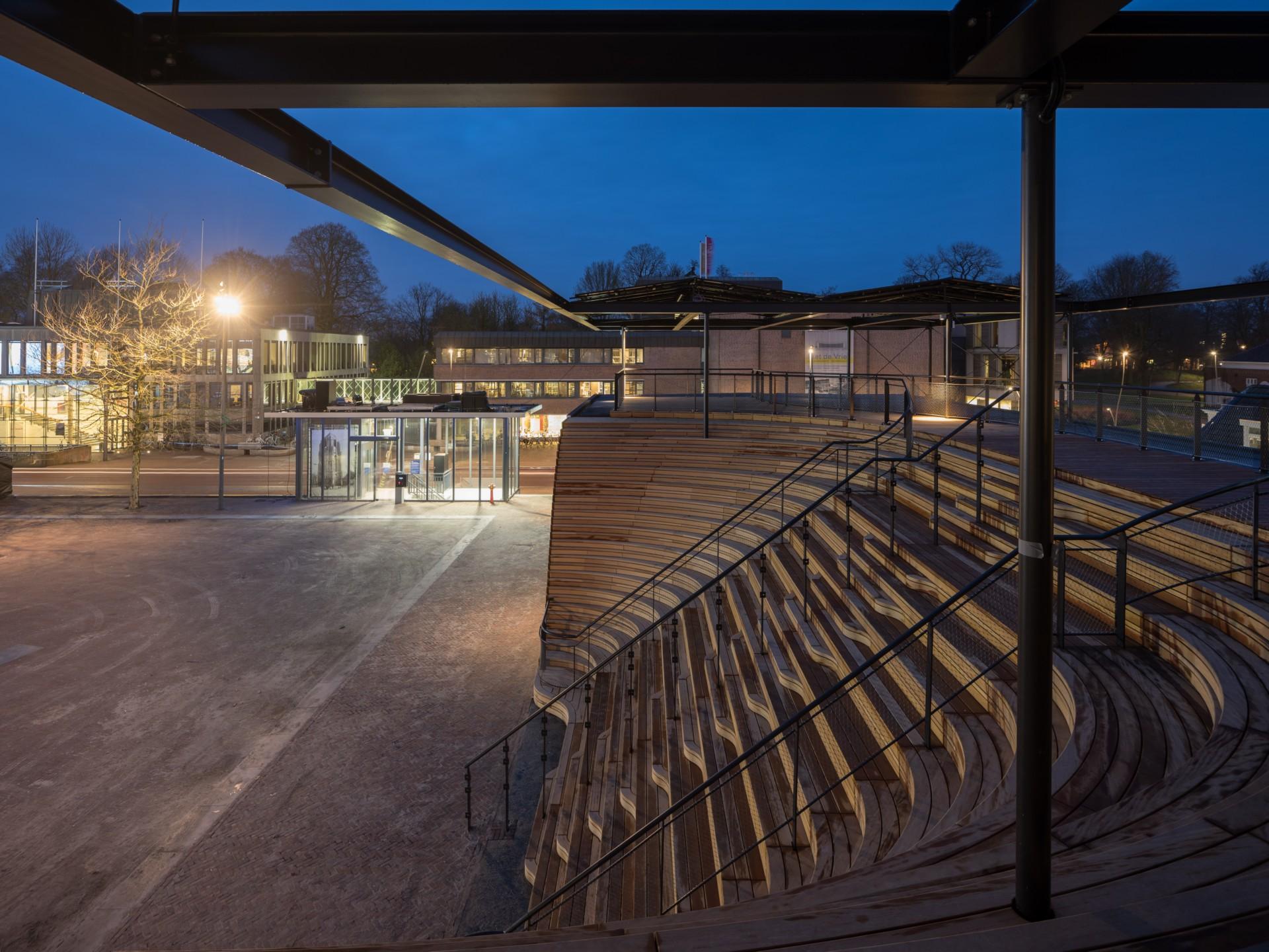 Powerhouse Company Pabellón Obe en Leeuwarden Capital Europea de la Cultura 2018