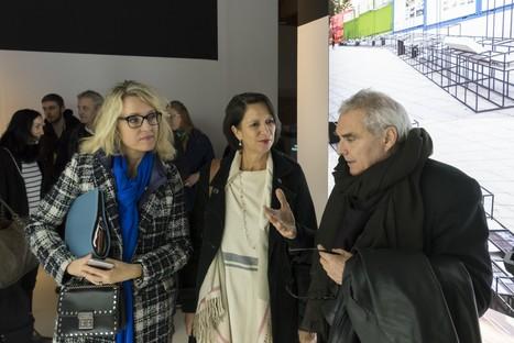 Exposición Dominique Perrault The Groundscape Experience Aedes Architecture Forum