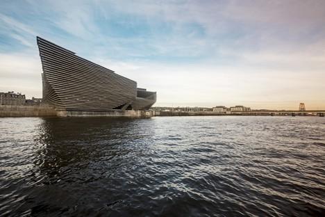 En septiembre abrirá el museo V&A Dundee proyectado por Kengo Kuma