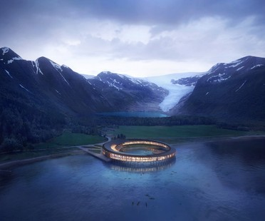 Snøhetta Svart Primer Hotel de Energía Positiva en el Círculo Polar Ártico