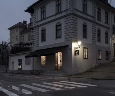 Dekleva Gregorič Architects Bistro EK Liubliana
