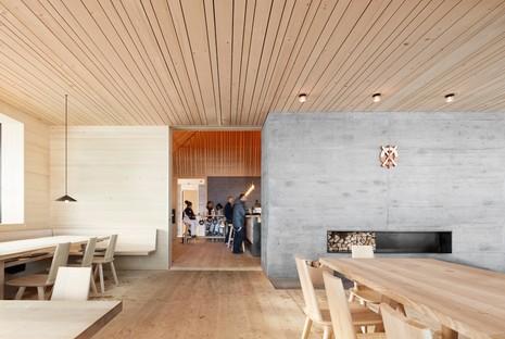 Arquitectura y naturaleza dos proyectos de Bernardo Bader Architekten