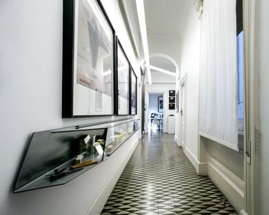 Casa y estudio dos interiores de Schiattarella Associati