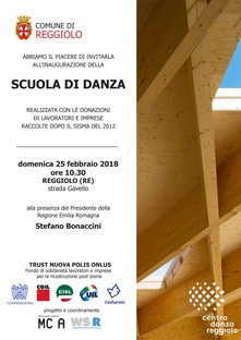Mario Cucinella Escuela de Danza en Reggiolo
