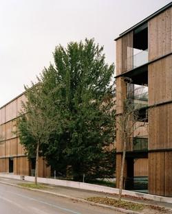 Escher Park y House B proyectos residenciales en Zúrich de E2A