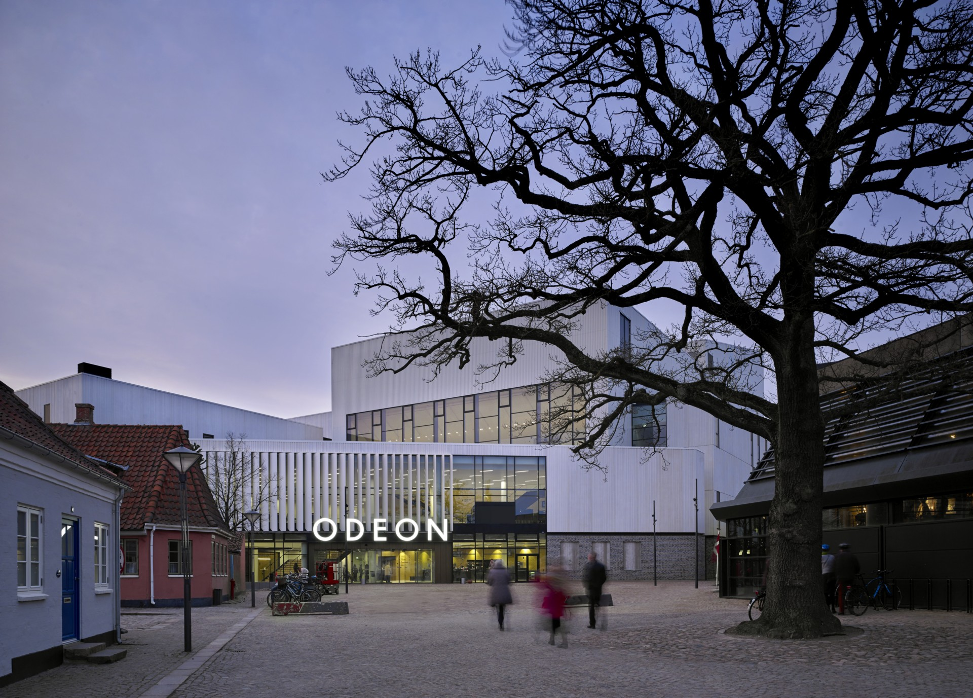 C.F. Møller Architects Odeon Music and Theatre Hall en Odense