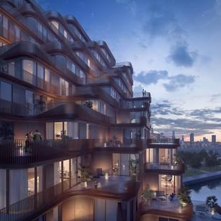 Aquabella y Aqualuna dos proyectos residenciales de 3XN Architects en Toronto