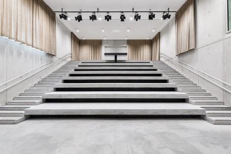 KAAN Architecten Utopia Biblioteca Academia de las Artes Escénicas en Aalst Bélgica