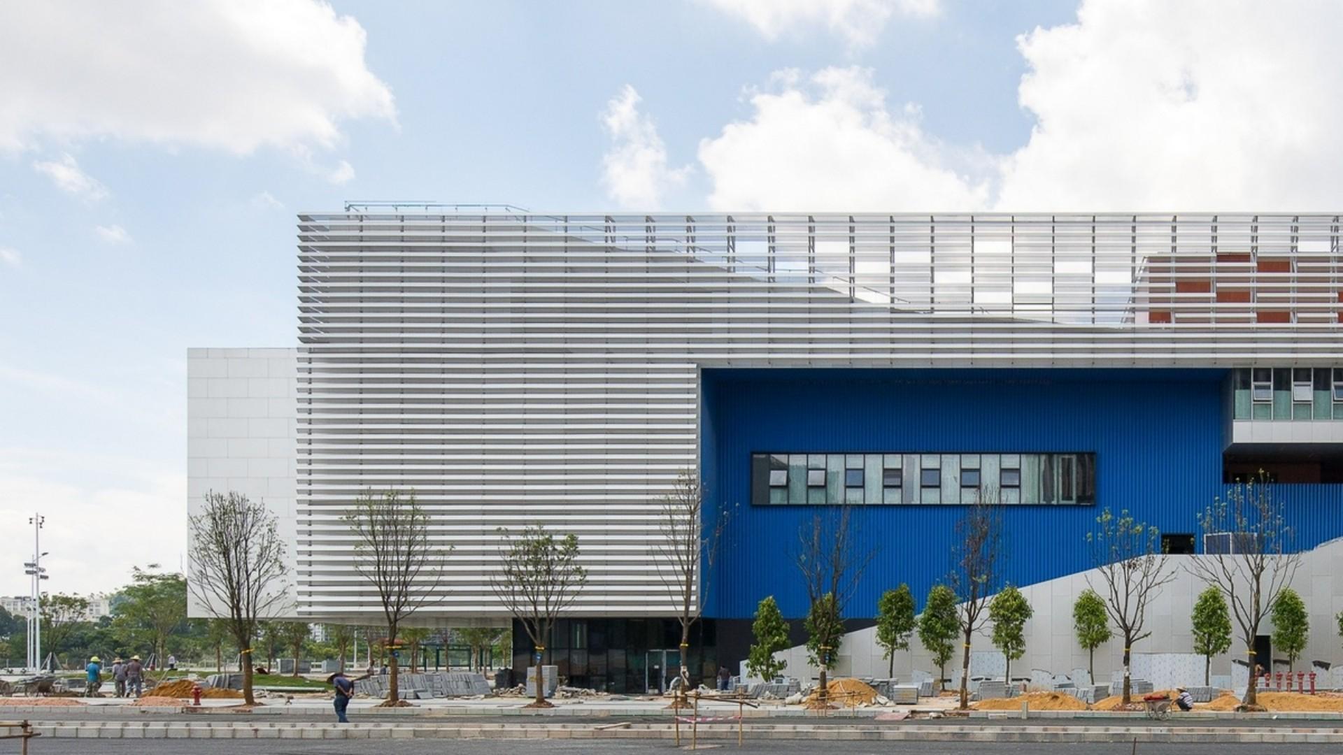 OPEN Architecture Pingshan Performing Arts Center de Shenzhen