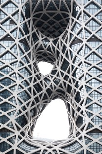 Zaha Hadid Architects Morpheus hotel at City of Dream Macao