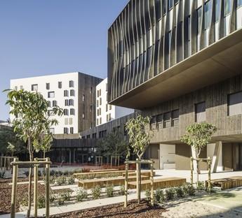 Brenac & Gonzalez & Associés, Escuela Secundaria La Plaine, Saint Denis